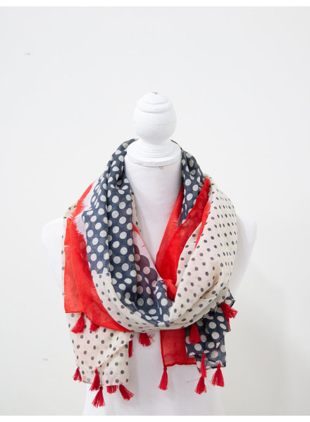 Funky Monkey 'Connect the Dots' Summer Scarf