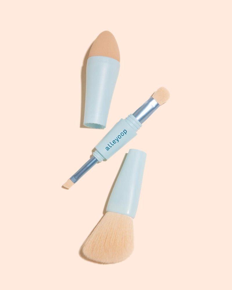 Alleyoop Alleyoop Multi-Tasker 4-In-1 Makeup Brush