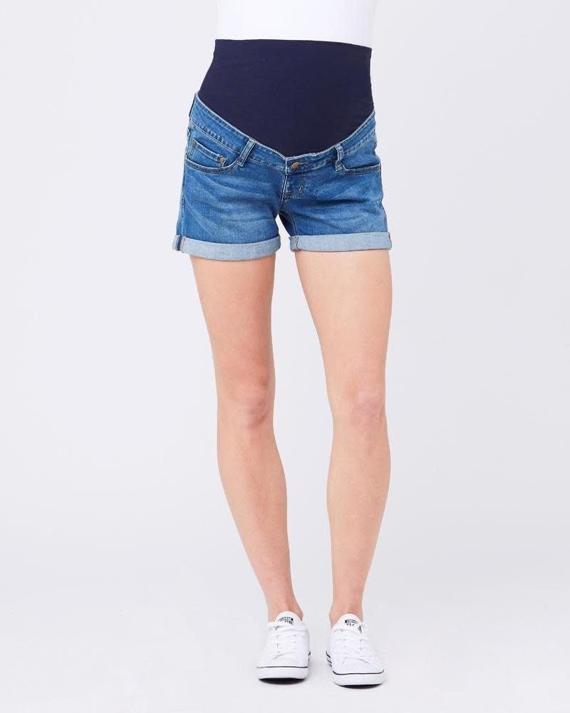 Ripe Ripe Maternity Blue 'Shorty' Denim Shorts