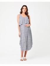 Ripe 'Stella' Stripe Nursing Dress
