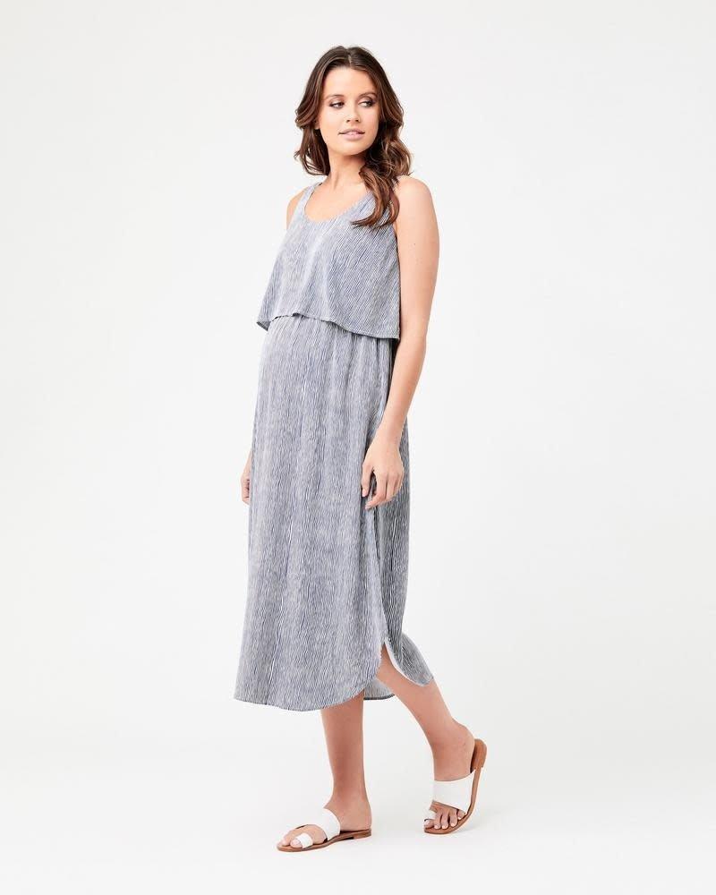 Ripe Ripe Maternity 'Stella' Stripe Nursing Dress