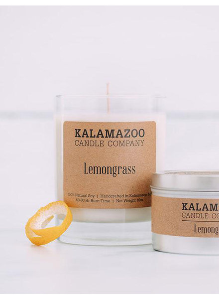 Kalamazoo Candle Co. Jar Candle in Lemongrass