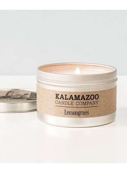 Kalamazoo Candle Co. Tin Candle in Lemongrass