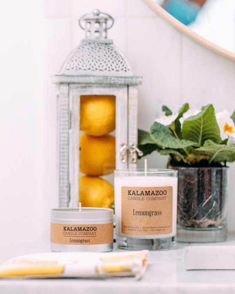 Kalamazoo Candle Co. Kalamazoo Tin Candle in Lemongrass