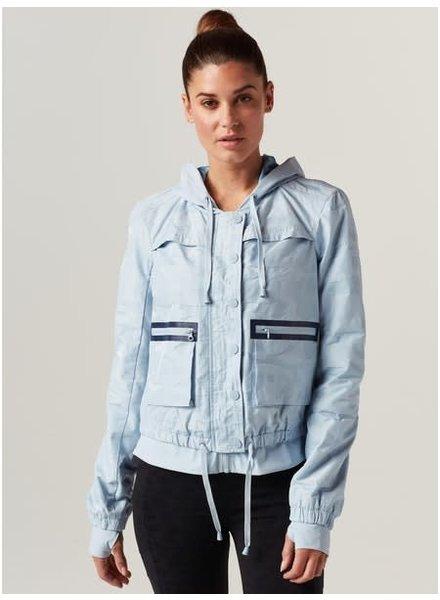 Blanc Noir Light Blue Camo Skyfall Jacket