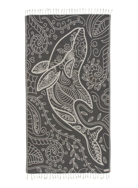 Sand Cloud 'Floral Dolphin' Towel