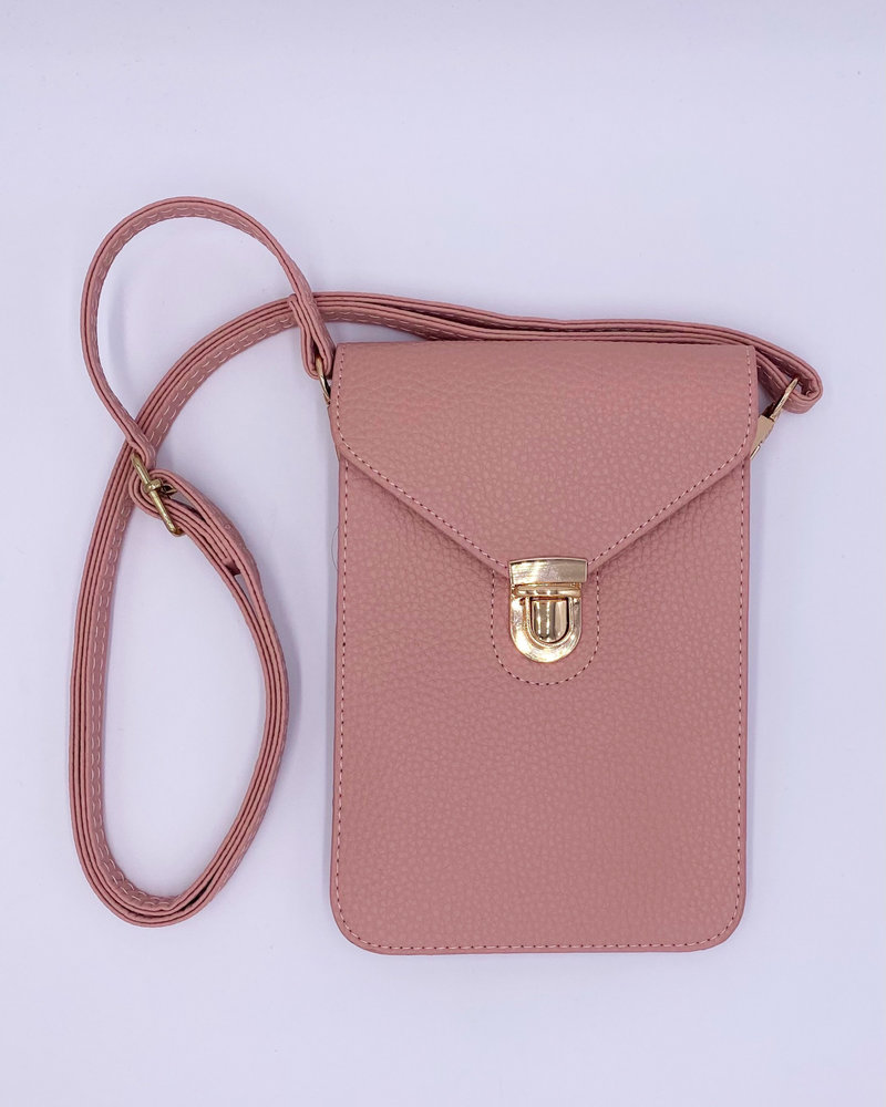 Belle Up 'Message Me' Crossbody Pouch