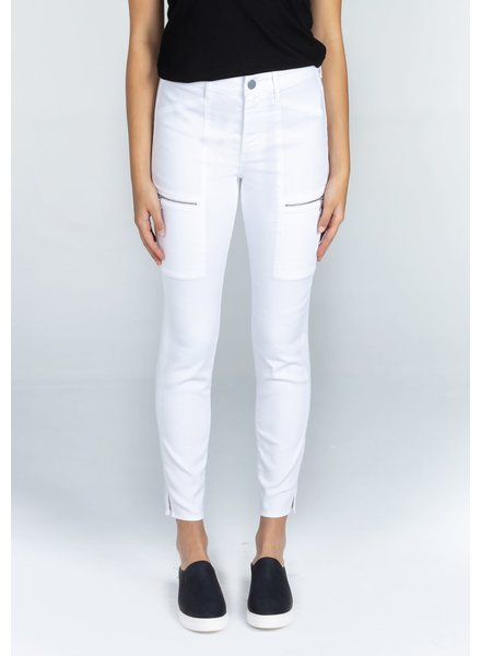Articles of Society 'Carlyon' Skinny Cargo Jean in White Stone