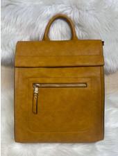 Belle Up 'Hot Off the Press' Envelope Backpack