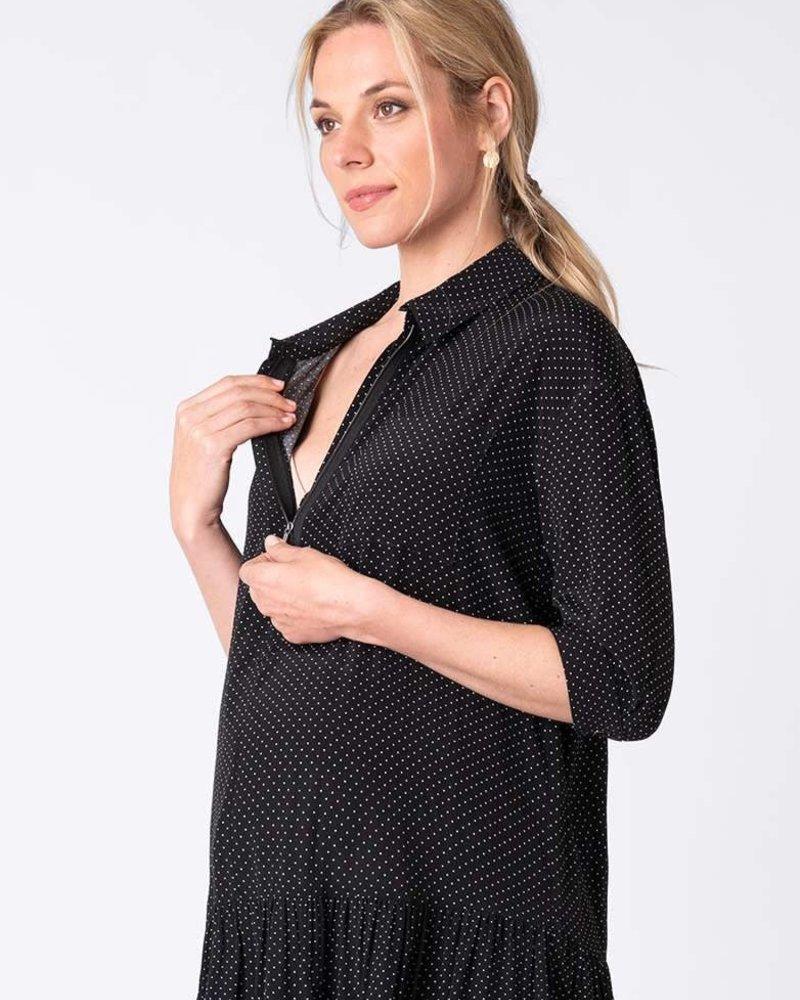 Seraphine Maternity Seraphine 'January' Dropped Waist Shirt Dress **FINAL SALE**