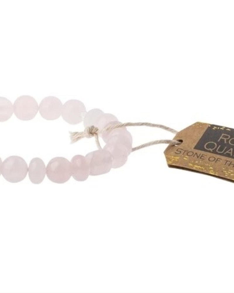 Scout Curated Wears Scout Rose Quartz Stone Stacking Bracelets