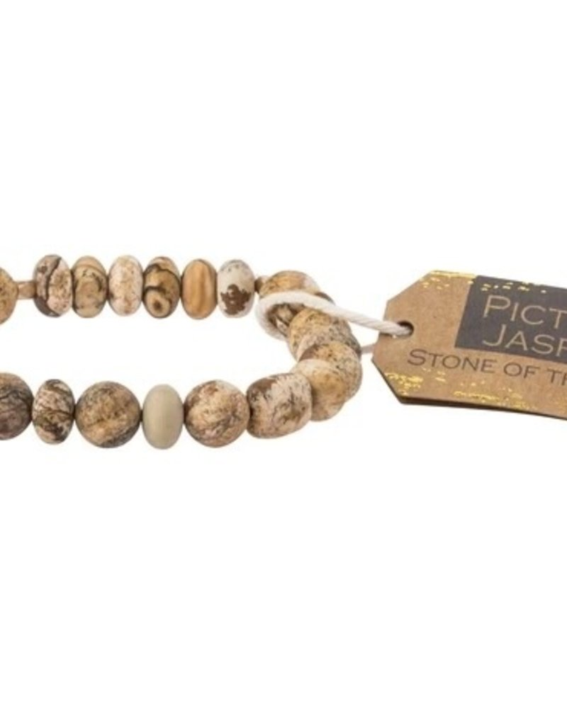Scout Curated Wears Scout Picture Jasper Stone Stacking Bracelets
