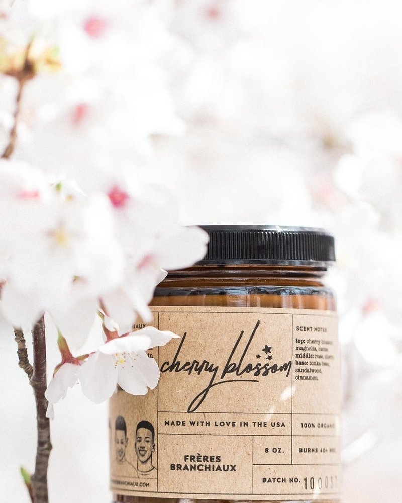 Freres Branchiaux Candle Co. Freres Branchiaux Cherry Blossom Candle