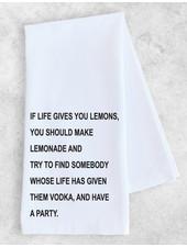 DEV D + Co Tea Towel | If Life Gives You Lemons