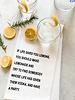 DEV D + Co Dev D + Co Tea Towel | If Life Gives You Lemons