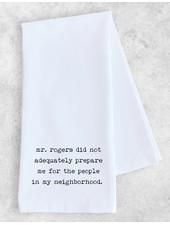 DEV D + Co Tea Towel | Mr. Rogers