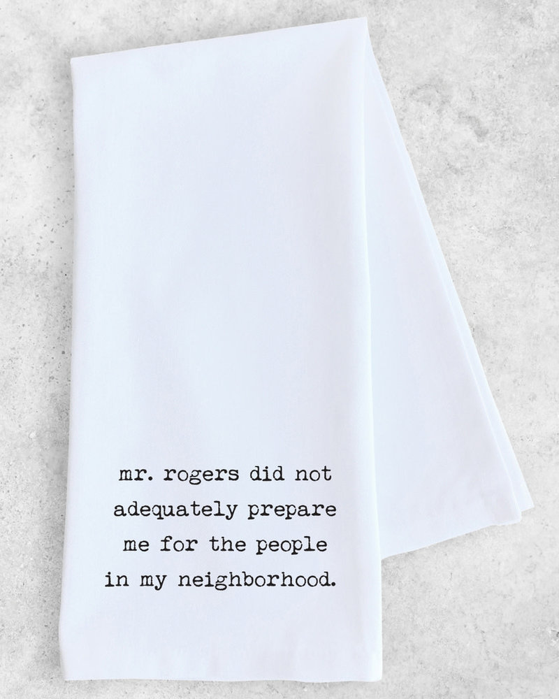 DEV D + Co Dev D + Co Tea Towel | Mr. Rogers