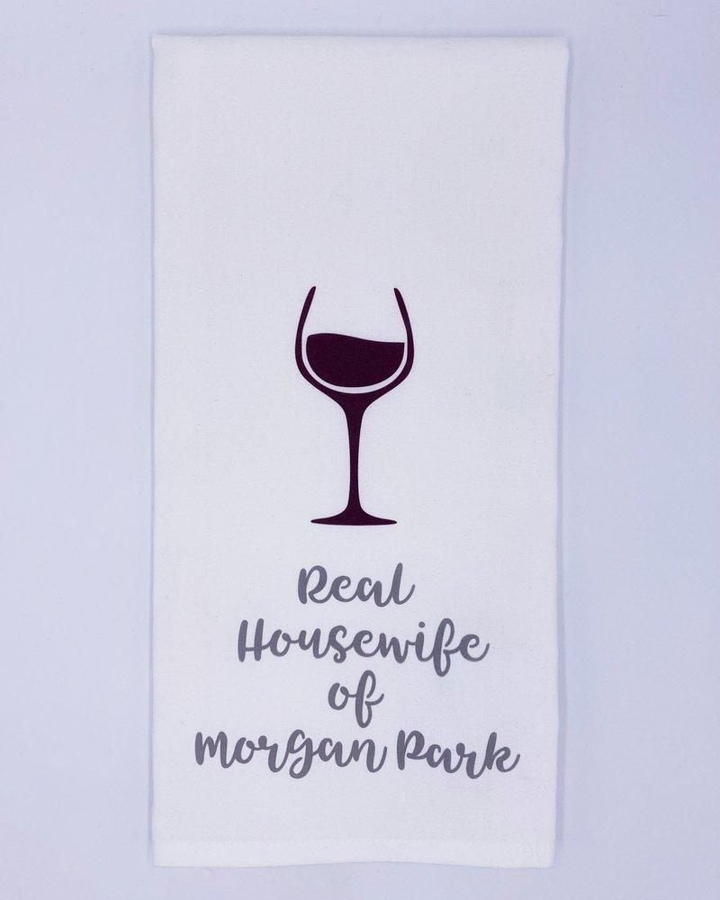 Rustic Marlin Rustic Marlin 'Real Housewife' Tea Towel   Morgan Park