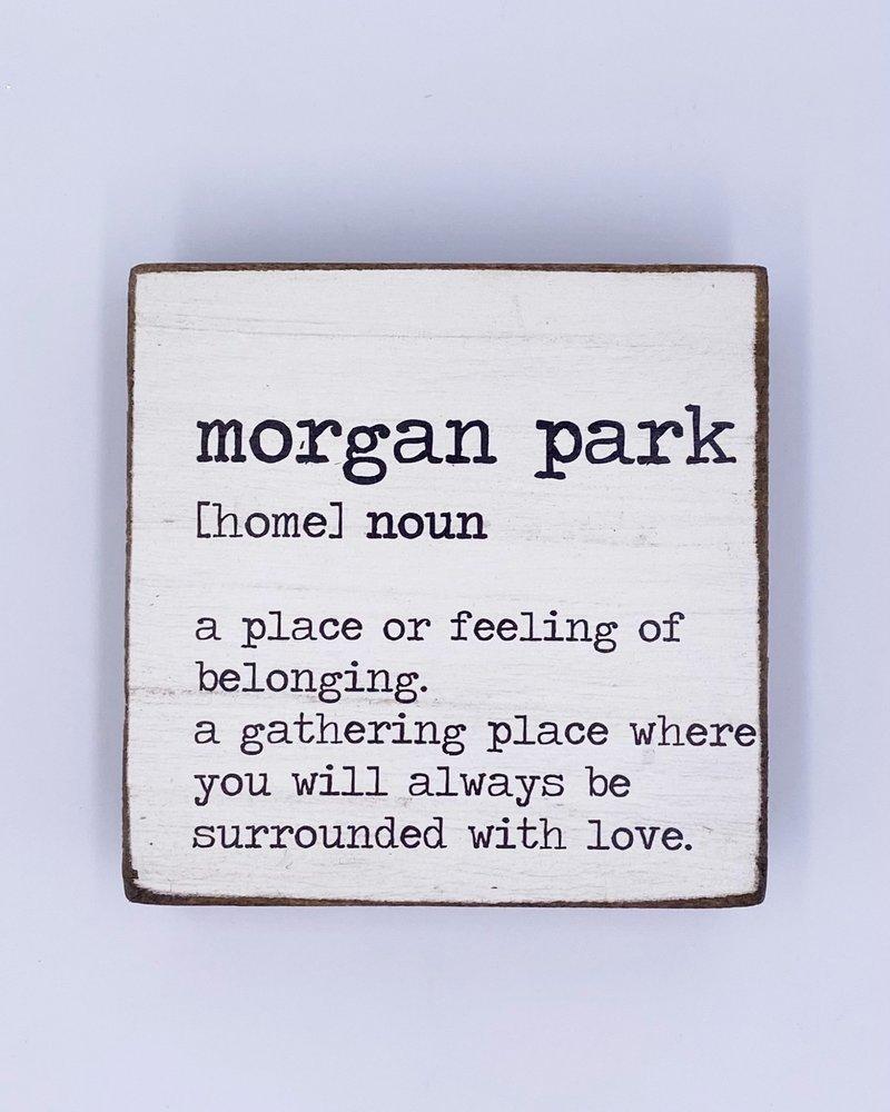 Rustic Marlin Rustic Marlin Definition Rustic Square Block   Morgan Park