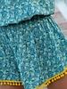 Natural Life Natural Life Aqua Pansy 'Ava' Cover-Up Dress