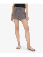 Kut from the Kloth Grey 'Go Shorty' Drawcord Shorts