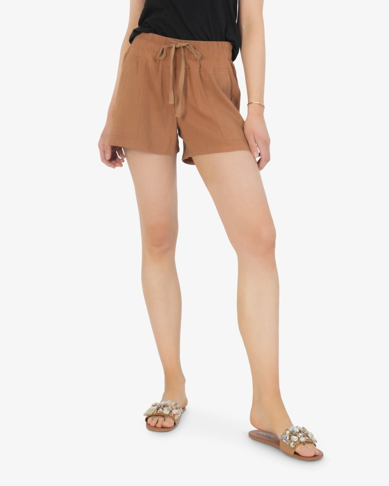 Kut from the Kloth Kut from the Kloth Ginger 'Go Shorty' Drawcord Shorts