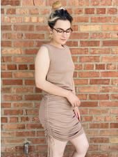 KLD Signature 'Gather Me Up' Tank Dress