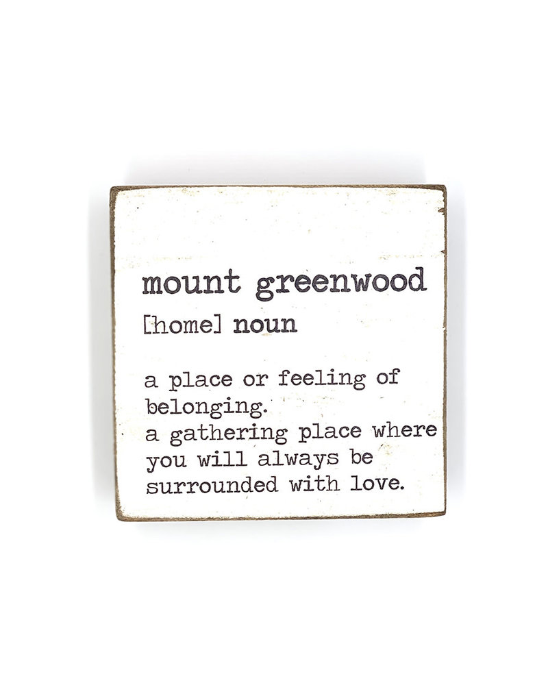 Rustic Marlin Rustic Marlin Definition Rustic Square Block | Mount Greenwood