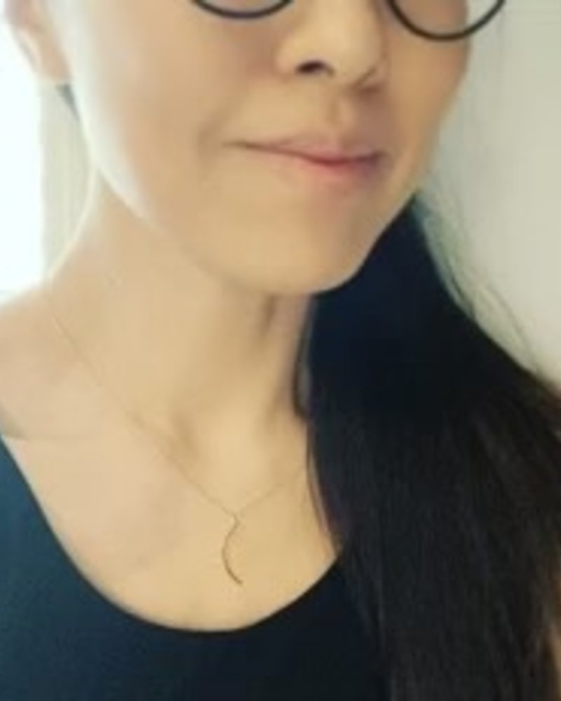 Must Have Must Have Dainty Necklace   Waning Crescent Moon