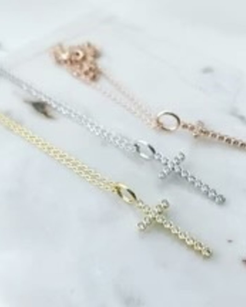 Must Have Must Have Dainty Necklace | Cubic Cross