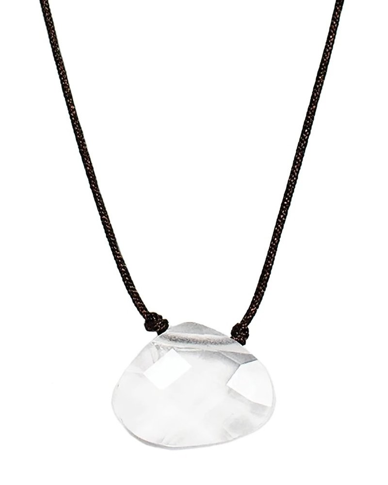 Lucky Feather Lucky Feather Color Power Necklace | Crystal