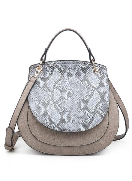 Jen & Co. 'Lennox' Saddle Bag (More Colors)