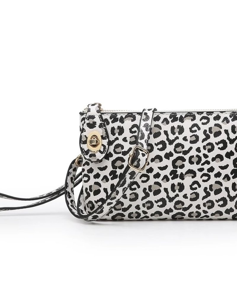 Jen & Co. Jen & Co. 'Snapper' Cheetah Convertible Crossbody Bag