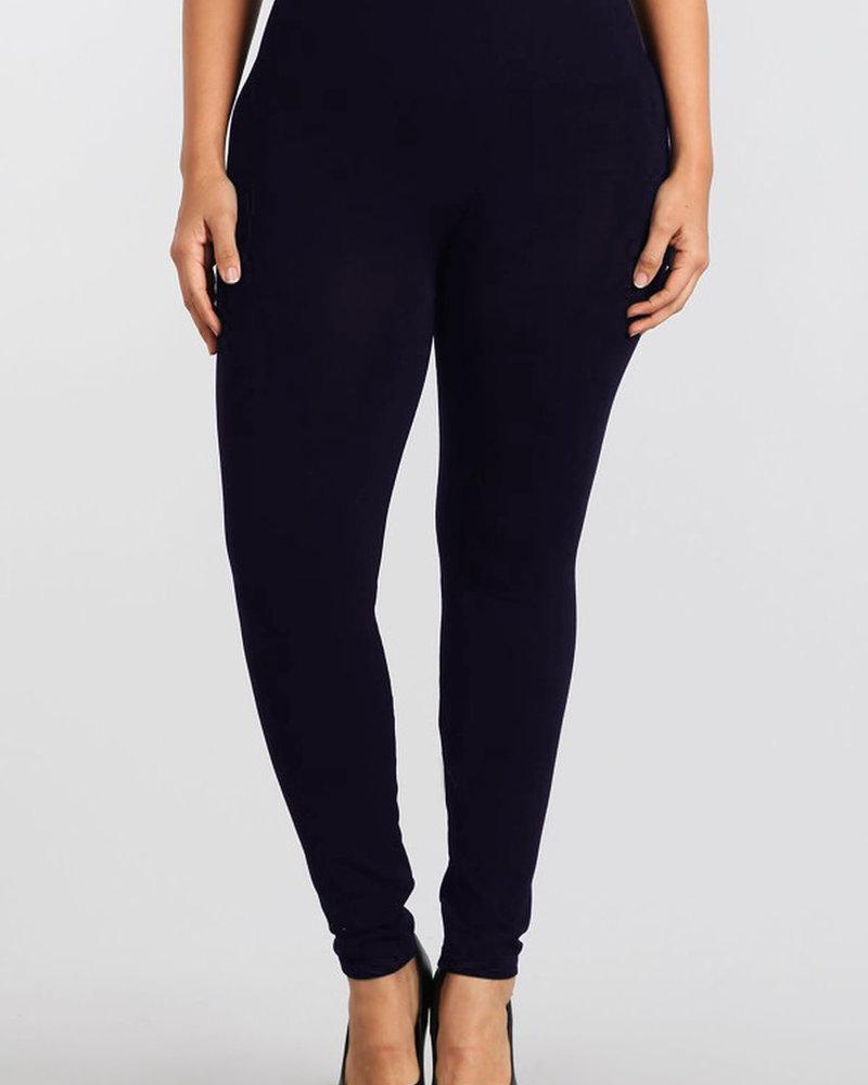 M. Rena M. Rena Plus Size Tummy Tuck Leggings O/S