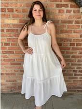 KLD Signature White  'A Ray Of Sunshine' Dress **FINAL SALE**