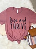 FAMS Design FAMS Design  'Rise And Thrive' Inspirational Tee