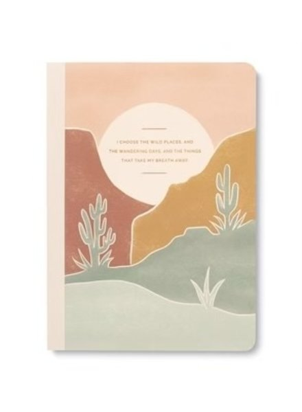 Compendium 'I Choose The Wild Places' Notebook