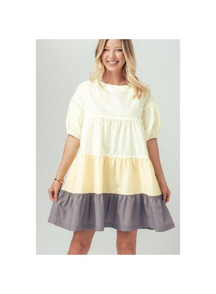 Urban Daizy 'A Burst Of Sunshine' Babydoll Dress