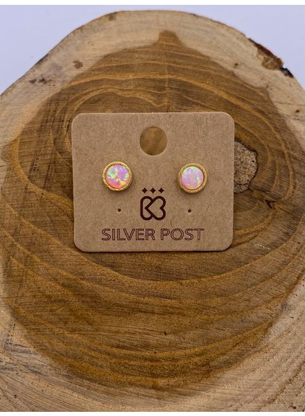 Must Have Opal Earrings | Classic Round (More Colors)