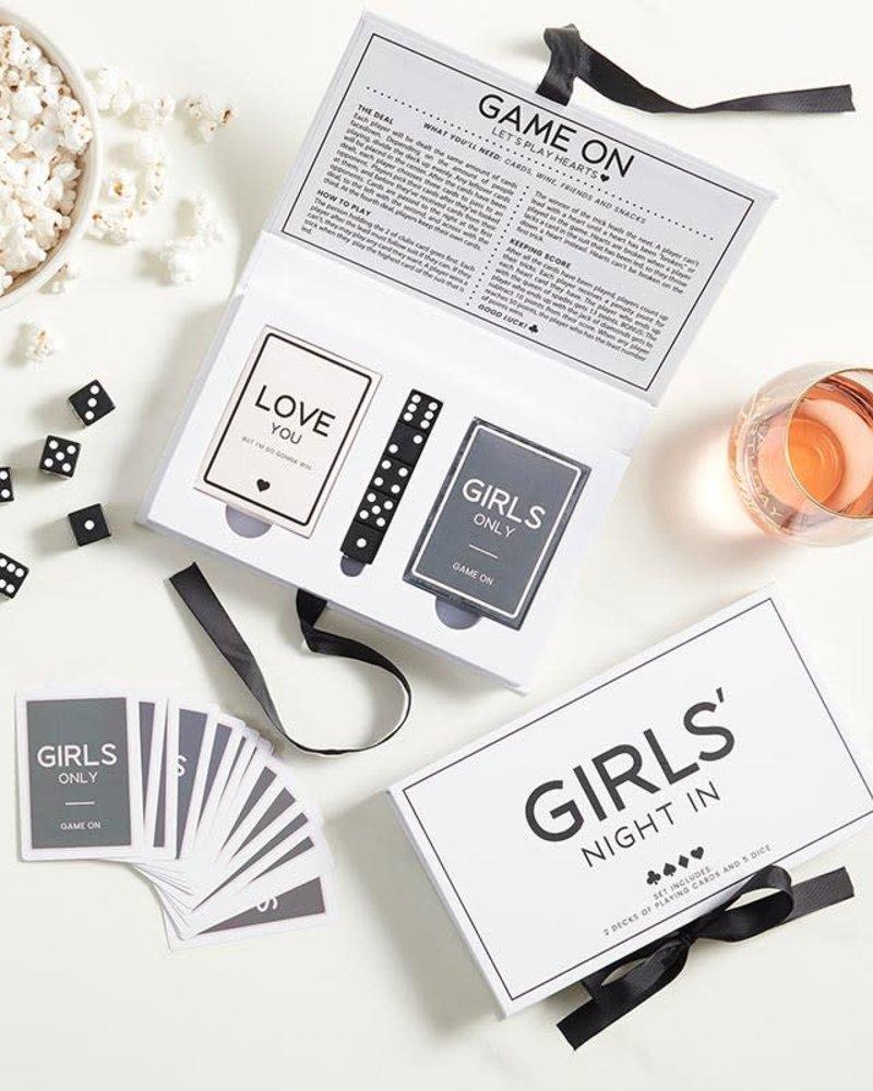 SB Design Studio SB Design Studio Girls' Night In Card & Dice Set