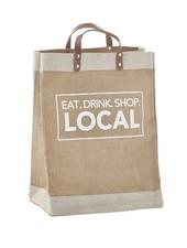 SB Design Studio Eat Drink Shop Local Farmer's Market Tote