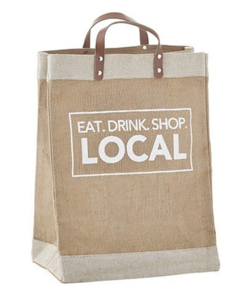 SB Design Studio SB Design Eat Drink Shop Local Farmer's Market Tote