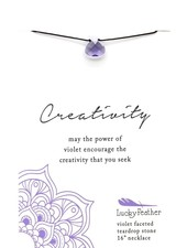 Lucky Feather Color Power Necklace | Creativity