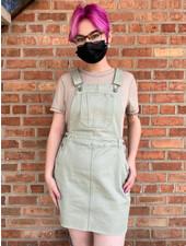 Urban Daizy 'Yorktown' Overall Dress