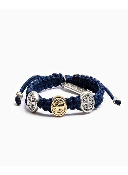 My Saint My Hero Mixed Medal Kids Benedictine Blessing Bracelet
