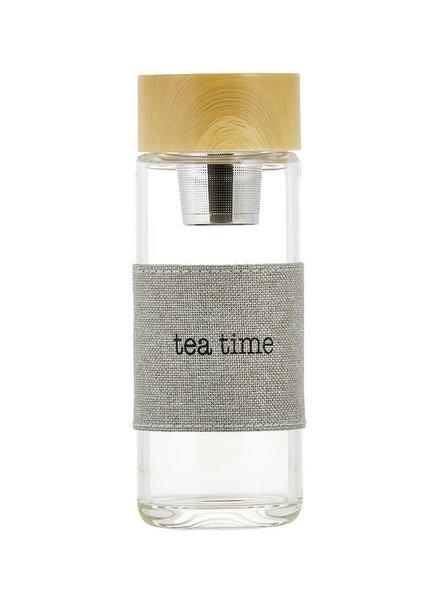 SB Design Studio Tea Time Glass Tea Infuser