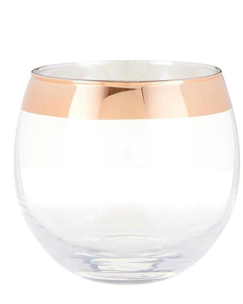 SB Design Studio SB Design Iridescent Roly Poly Glass