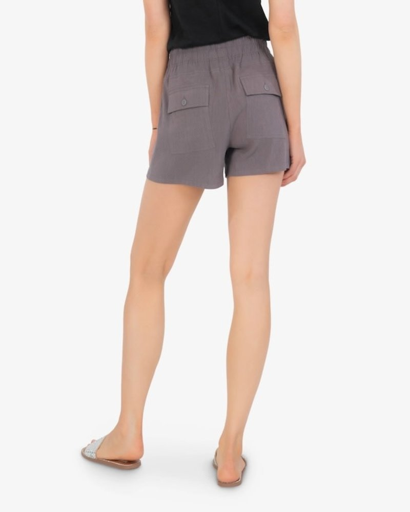 Kut from the Kloth Kut from the Kloth Grey 'Go Shorty' Drawcord Shorts