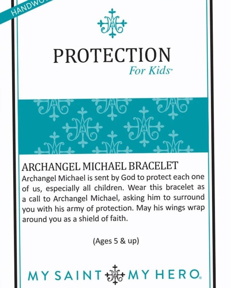 My Saint My Hero My Saint My Hero Kids St. Michael Protection Bracelet