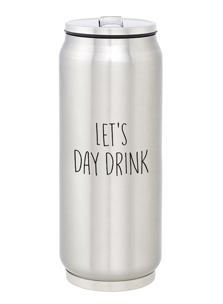 SB Design Studio Large Stainless Steel Can   Day Drink